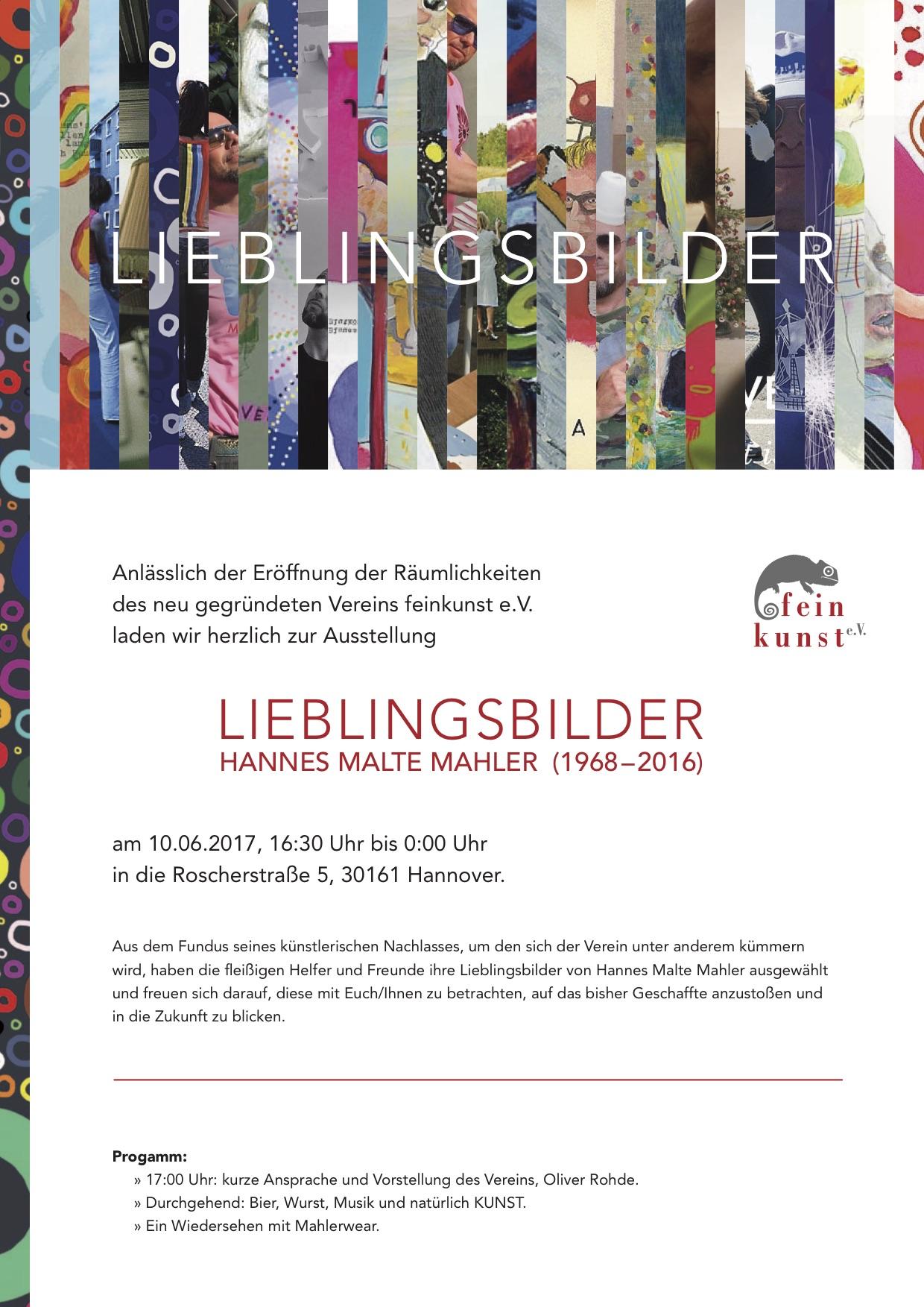 Lieblingsbilder - Hannes Malte Mahler