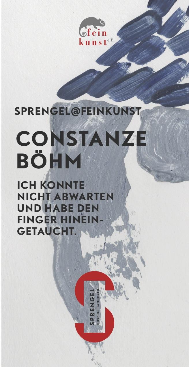 Ausstellung Sprengel@feinkunst: Constanze Böhm